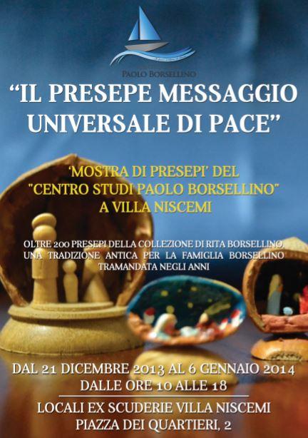 IL PRESEPE MESSAGGIO UNIVERSALE DI PACE